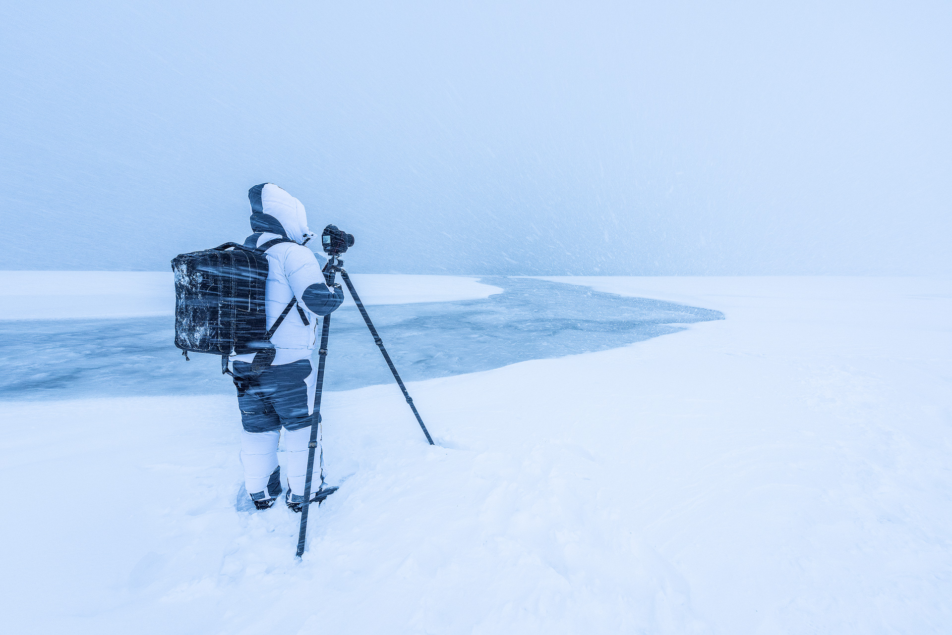Essential equipment for landscape photography: tripod