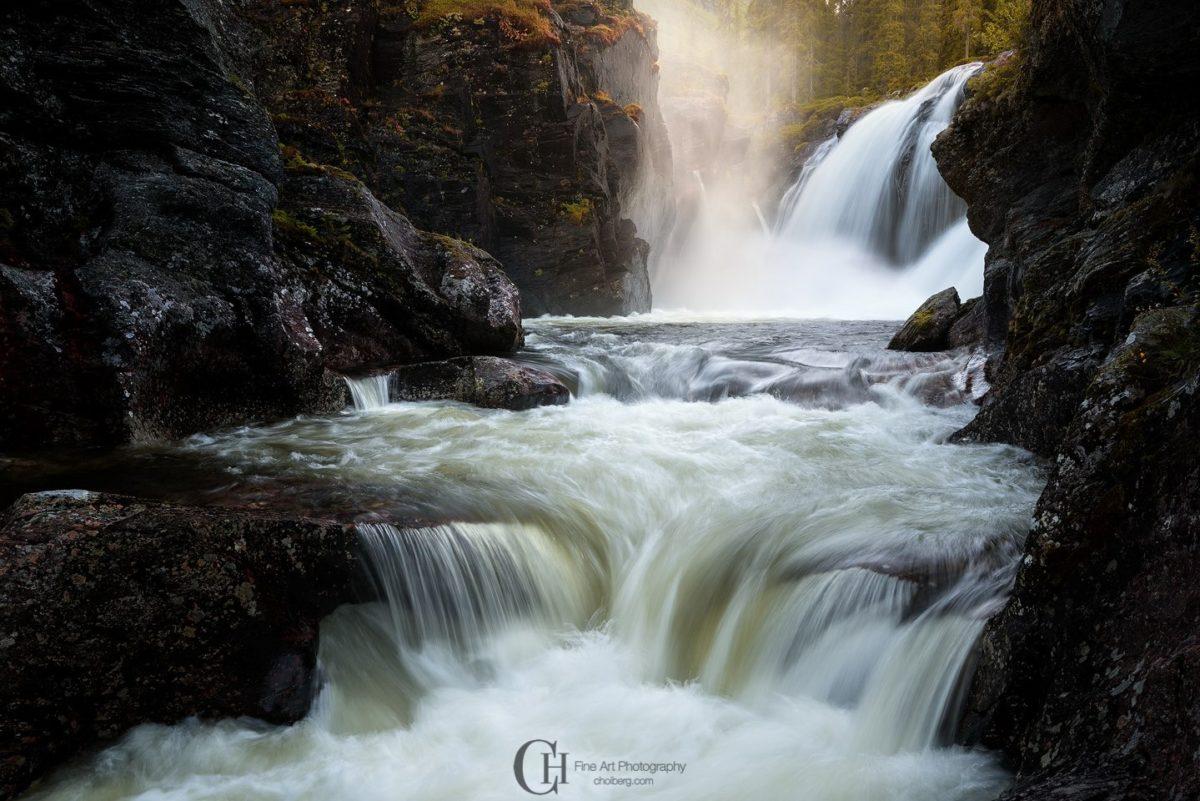 Beautiful light on a river