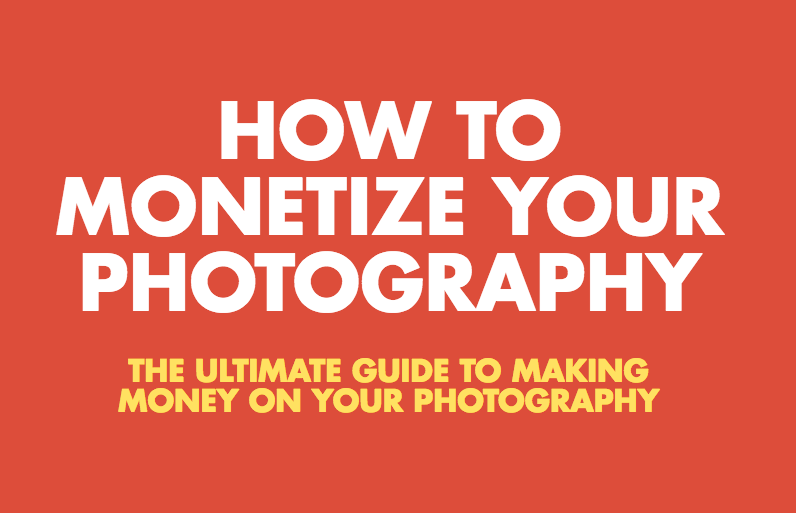 Monetize your photography
