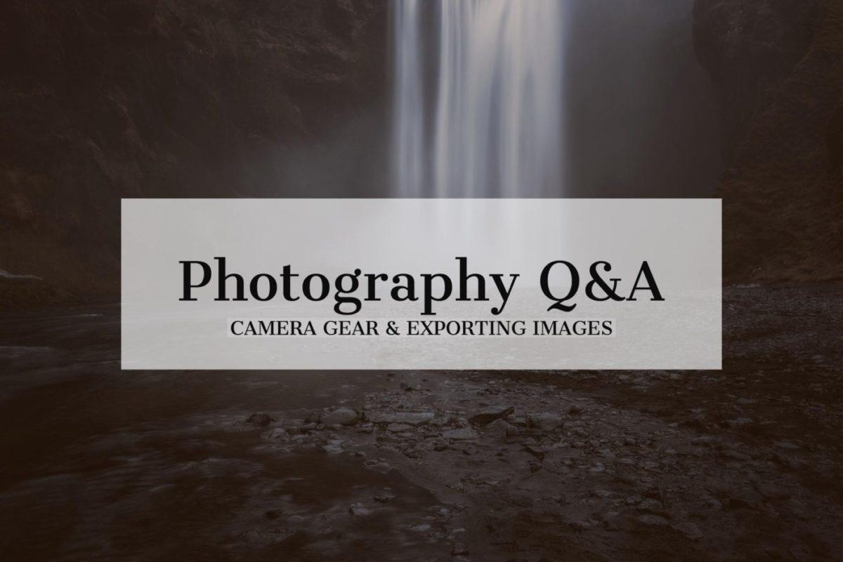 landscape photography q & a