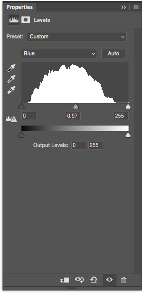 Remove Color Cast in Photoshop with Levels