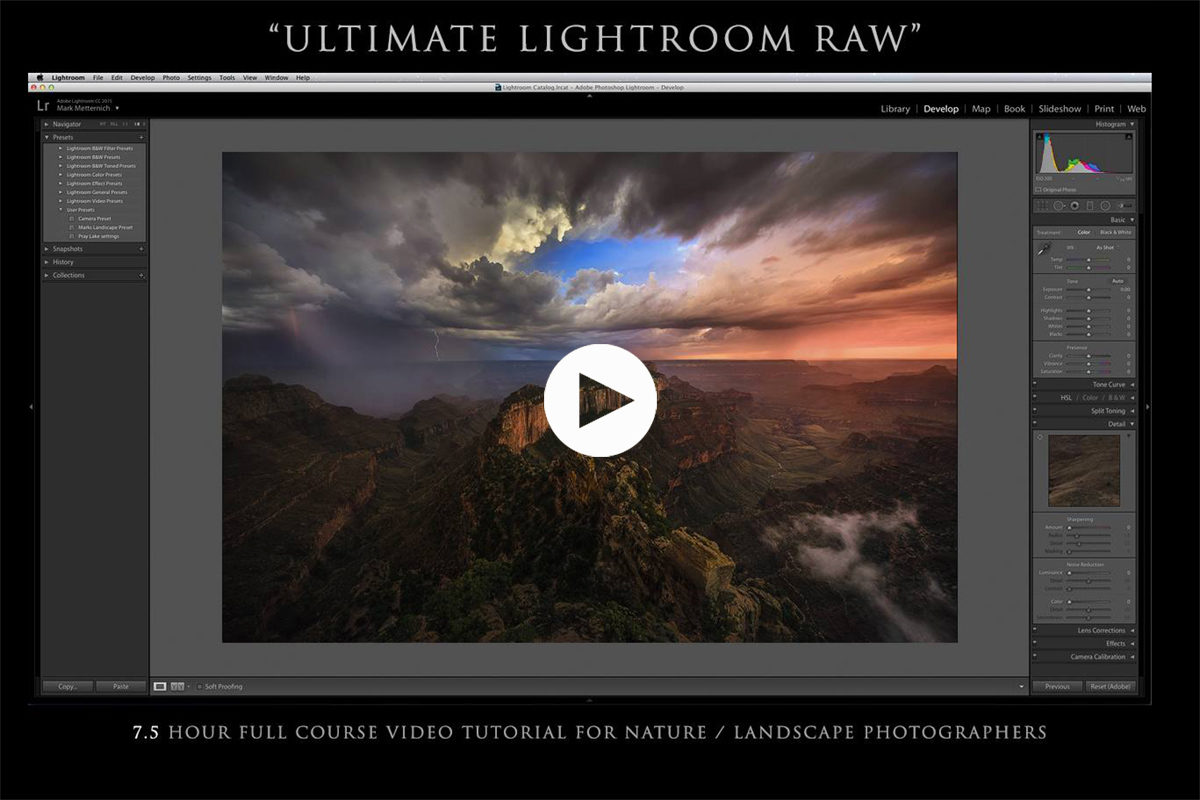 Ultimate Lightroom RAW Video Course