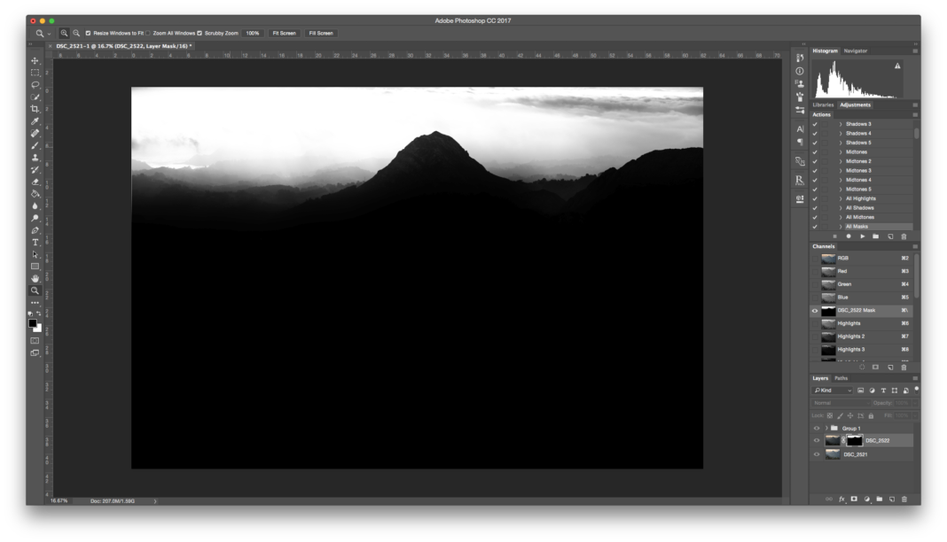 Layers and Masks in Photoshop