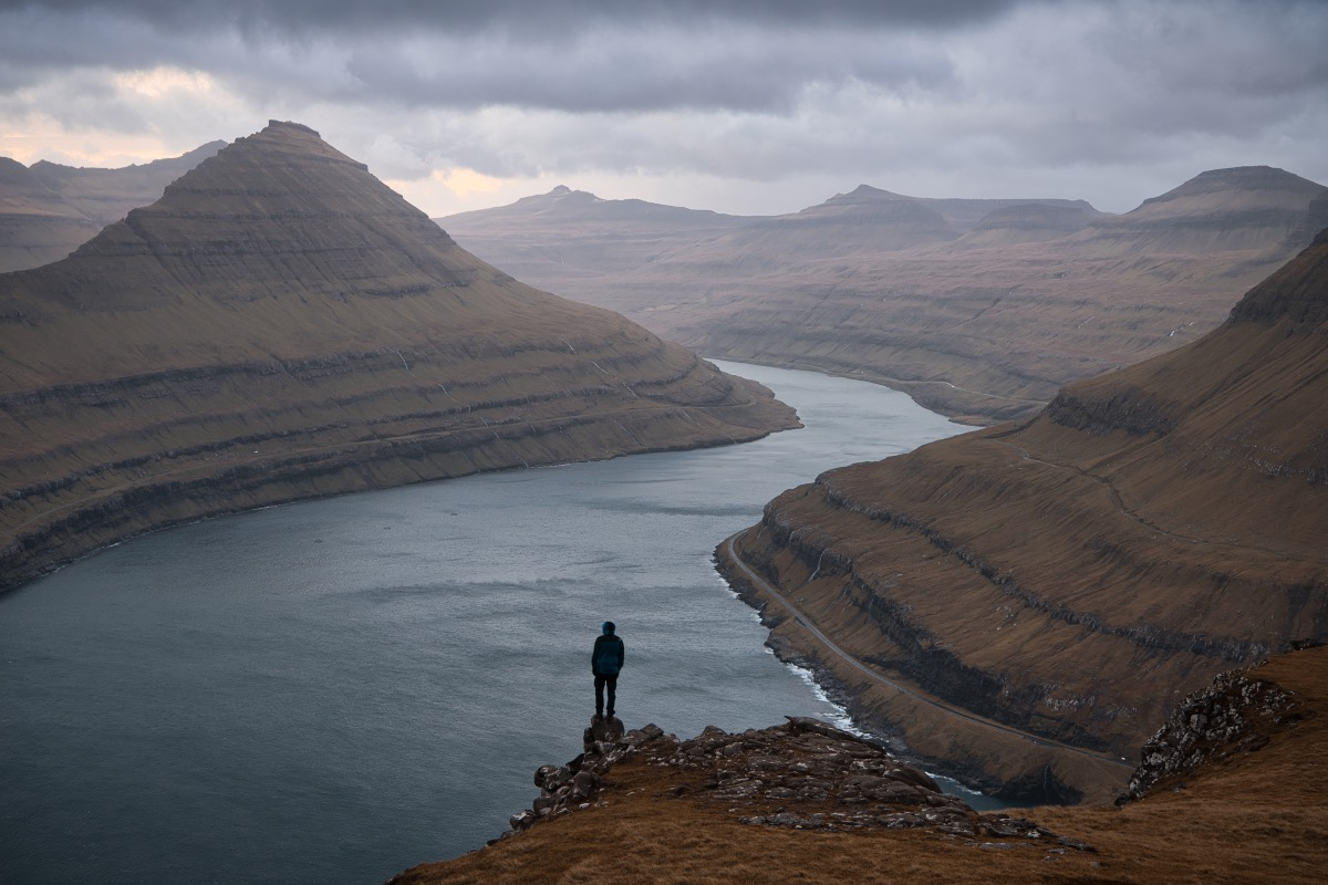 View of the Faroe Islands
