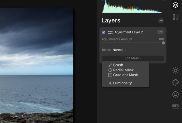 Make a Layer Mask in Luminar 4