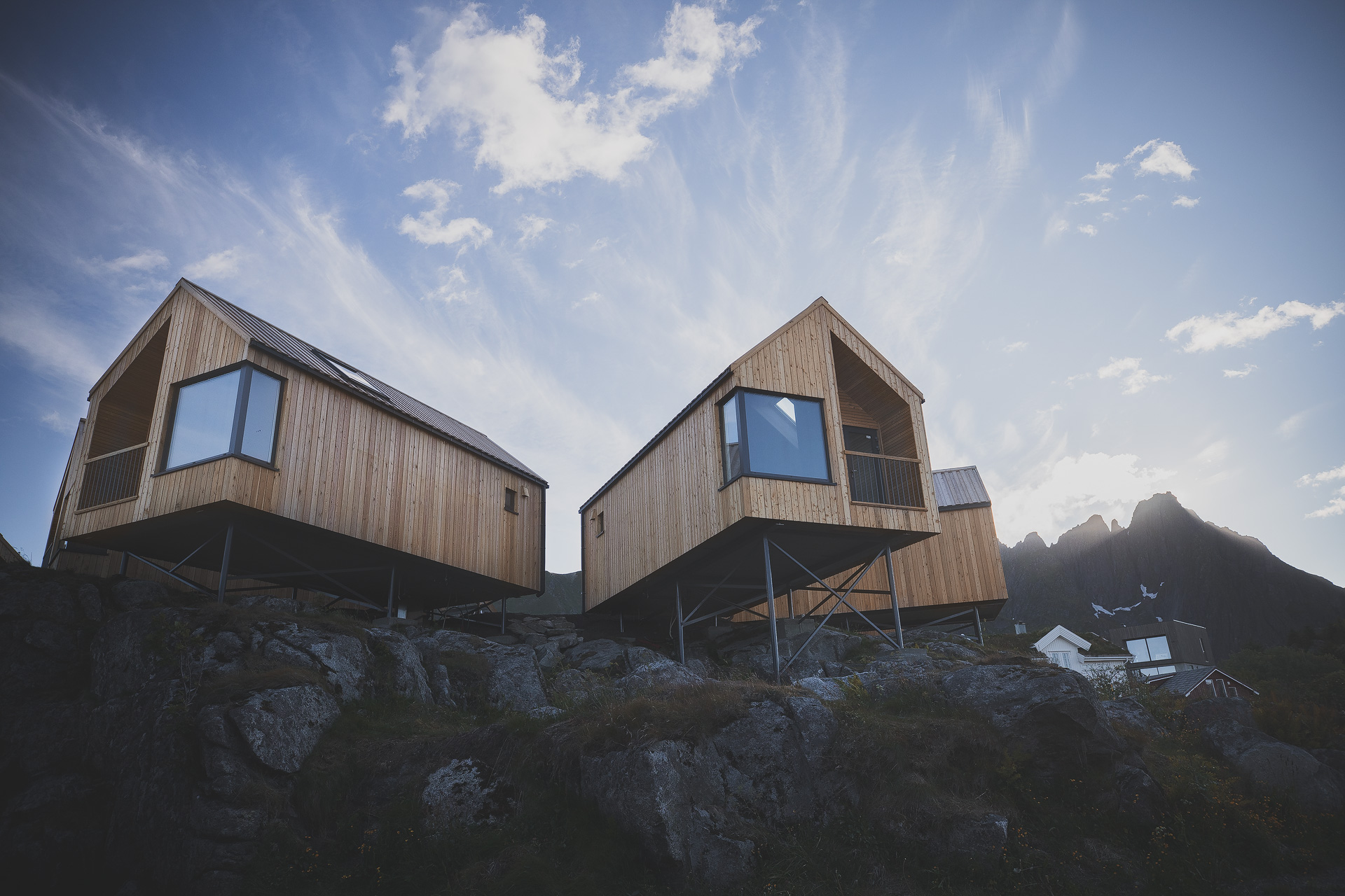 Accommodation in the Lofoten Islands