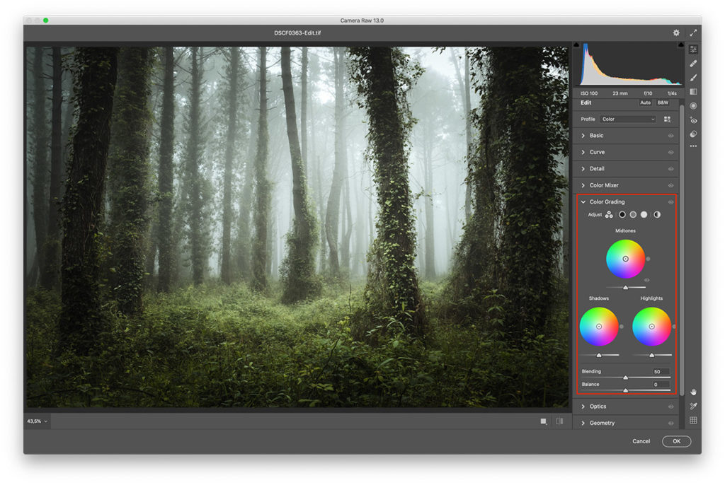 How to Use the Color Grading Tool in Lightroom