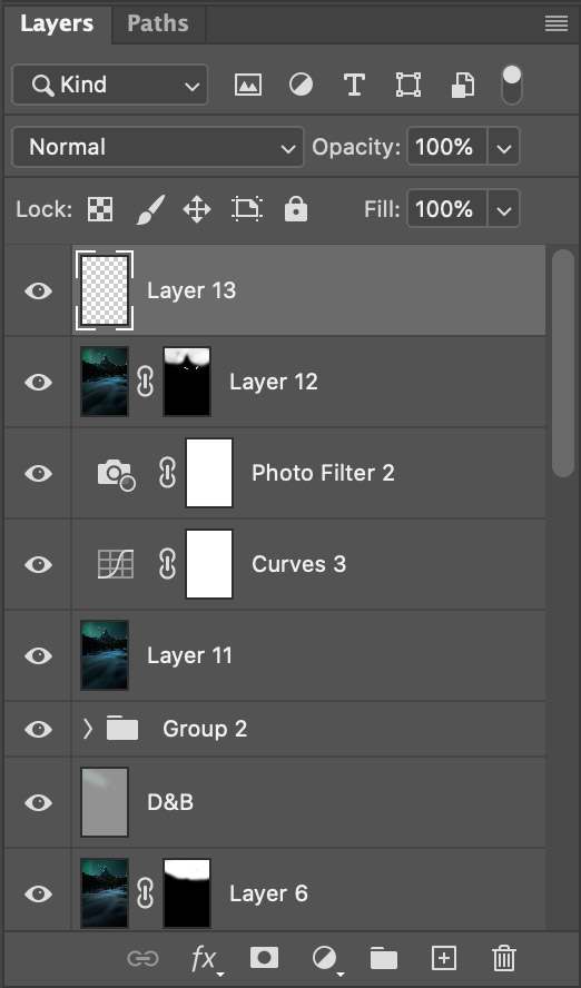Layers in Adobe Photoshop