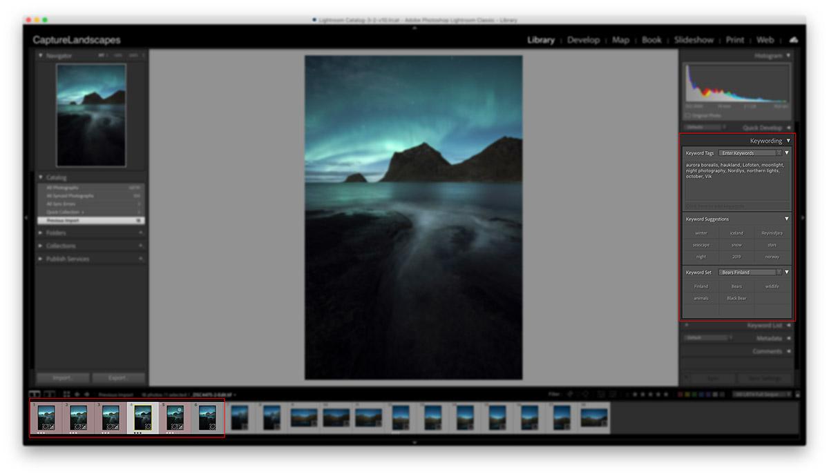 Lightroom Tips for Landscape Photographers