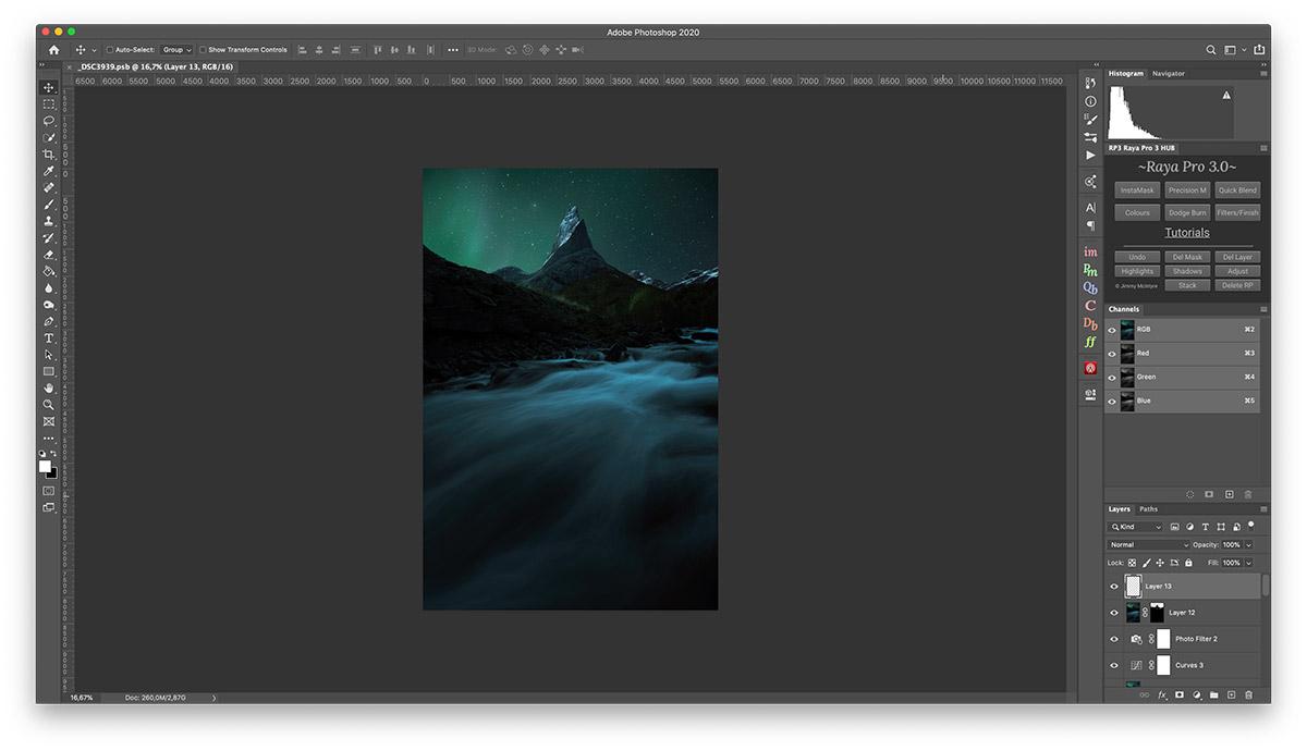 Adobe Photoshop 2020 Interface
